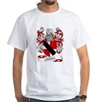 Loring Coat of Arms White T-Shirt