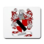 Loring Coat of Arms Mousepad