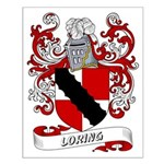 Loring Coat of Arms Small Poster