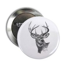 "White-Tailed Deer 2.25"" Button"