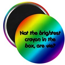 """Brightest Crayon 2.25"""" Magnet (10 pack)"""
