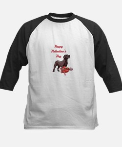 Happy Valentine's Day Labrador Tee