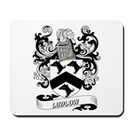 Ludlow Coat of Arms Mousepad