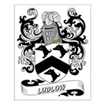 Ludlow Coat of Arms Small Poster