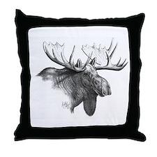 Moose Throw Pillow