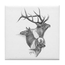 Elk Tile Coaster
