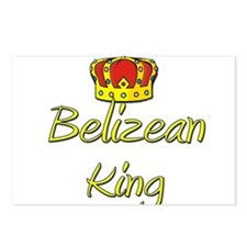 Belizean King Postcards (Package of 8)