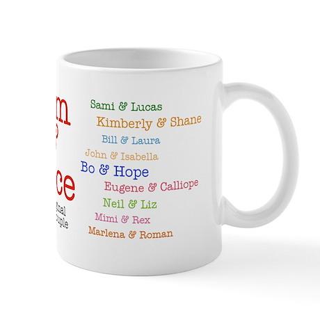 Days of Our Lives Favorite Couples Mug