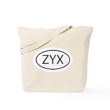 ZYX Tote Bag