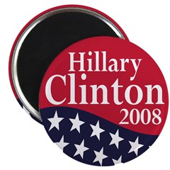 "Hillary Clinton 2008 2.25"" Magnet (10 pack)"