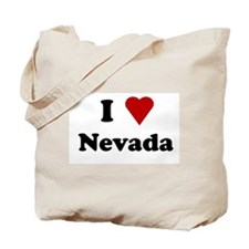 I Love Nevada Tote Bag