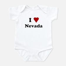 I Love Nevada Infant Bodysuit