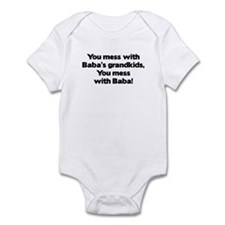 Don't Mess with Baba's Grandkids! Infant Bodysuit