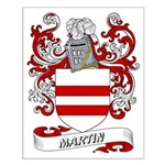 Martin Coat of Arms Small Poster