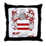 Martin Coat of Arms Throw Pillow