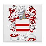 Martin Coat of Arms Tile Coaster