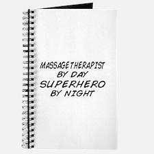 Massage Therapist Superhero Journal
