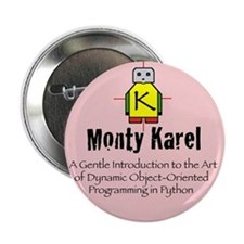 "Monty Karel 2.25"" Button (100 pack)"