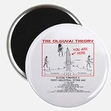 Olduvai Theory Magnet