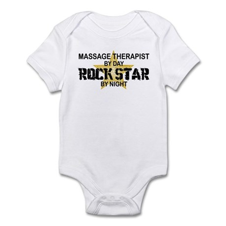 Massage Therapist Rock Star Infant Bodysuit