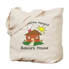 Babcia House Tote Bag