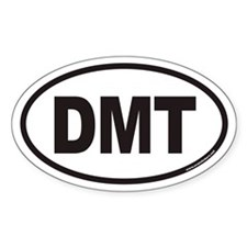 DMT Euro Oval Decal
