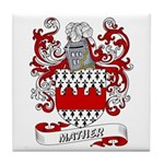 Mather Coat of Arms Tile Coaster