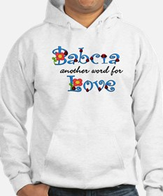 Babcia Another Word LOVE Hoodie