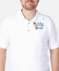 Bubbe Another Word LOVE Golf Shirt