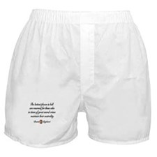 Neutral Quote Boxer Shorts