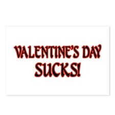 Valentine's Day Sucks! Postcards (Package of 8)