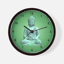 Cool Buddhist art peace Wall Clock