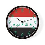 Iraq Flag Clock