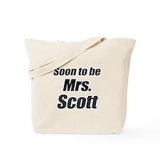 Soon to be mrs. Scott Tote Bag