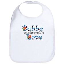 Bubbe Another Word LOVE Bib