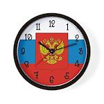 Russian Flag Wall Clock
