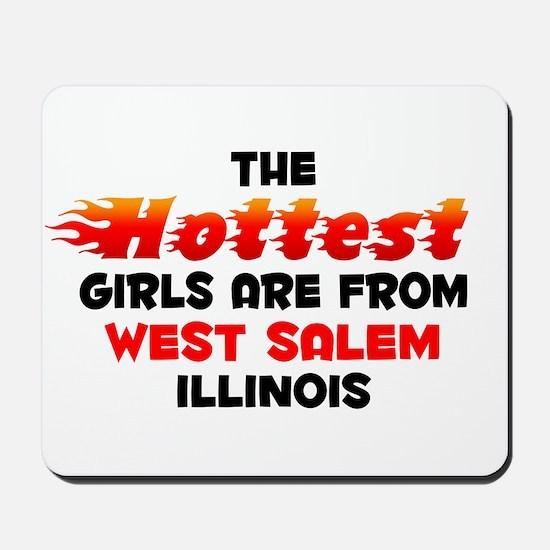Hot Girls: West Salem, IL Mousepad
