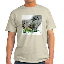 Ruffed Grouse Ash Grey T-Shirt