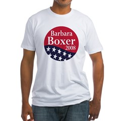 Barbara Boxer 2008 (Fitted Political T-Shirt)