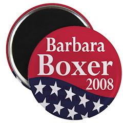 "Barbara Boxer 2008 2.25"" Magnet (100 pack)"