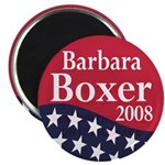 Barbara Boxer for President in 2008 (Magnet)