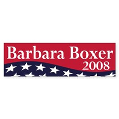 Barbara Boxer 2008 (bumper sticker)