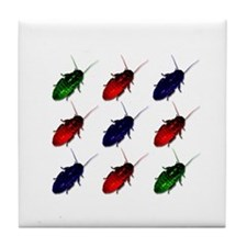 Colorful Cockroach Coffee Costers