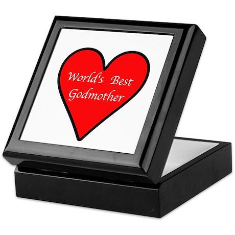 World's Best Godmother Keepsake Box