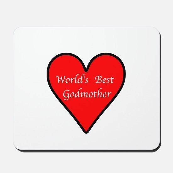 World's Best Godmother Mousepad
