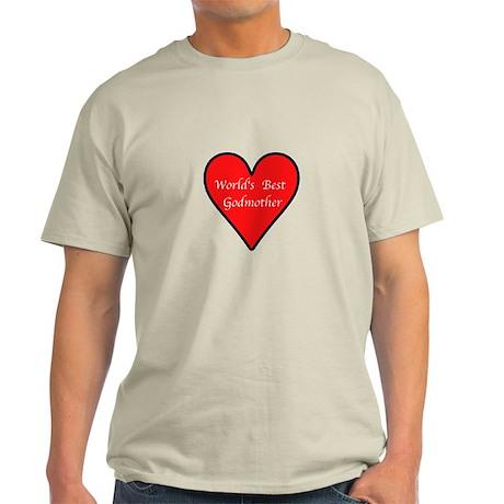 World's Best Godmother Light T-Shirt