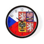 Czech Flag Wall Clock