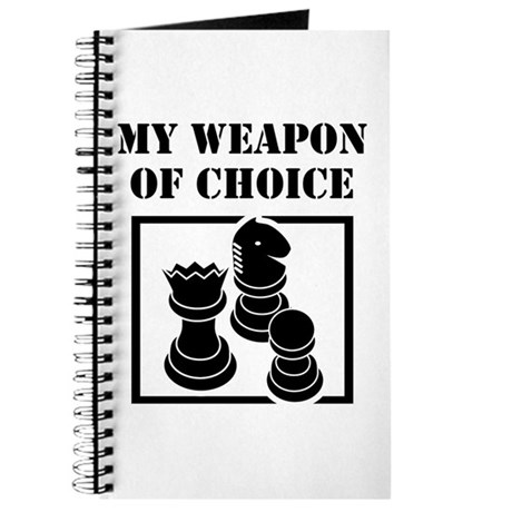 Chessman - WeaponOfChoice Journal