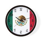Mexico Flag Clock