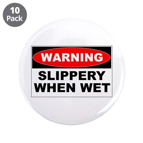 """Slippery 3.5"""" Button (10 pack)"""